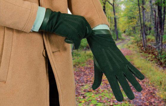 Leather Gloves Winter for Men